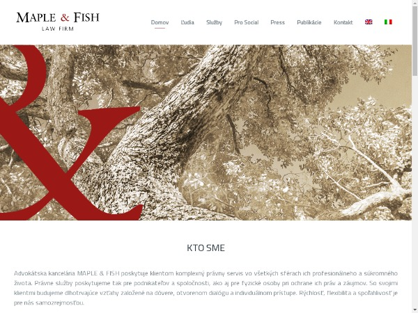 Maple & Fish | Law firm