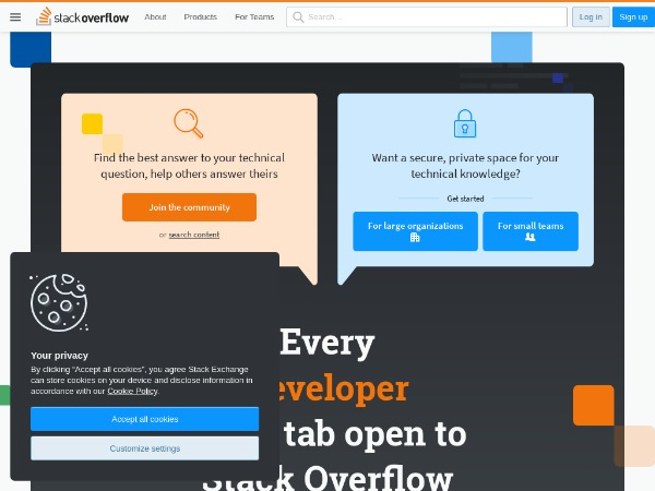 Stack Overflow - Where Developers Learn, Share, & Build Careers
